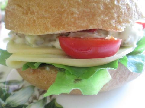 Monika's Best Chicken Salad Sandwich