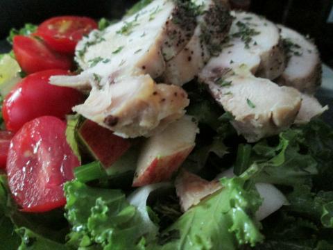 Chicken Kale Recipe Salad