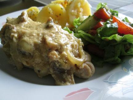 Chicken and Mushrooms