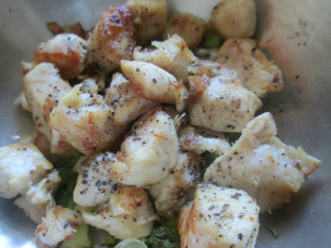 Chicken Breasts and Green Onions