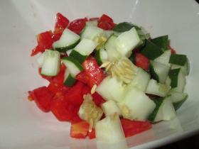 Cubed Cucumbers