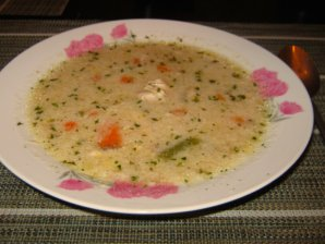 Best Chicken Soup Recipe with Kasha