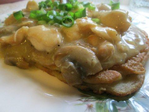 Blatskies and Chicken Stew