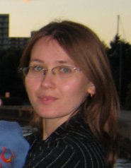 Monika Fraczek in business suit