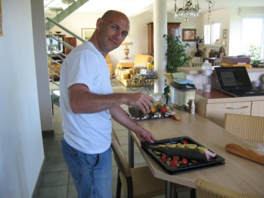 Mon ami Philippe dans la Cuisine!