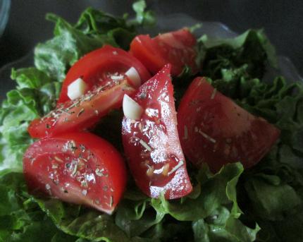 Salad For Chicken Meatballs