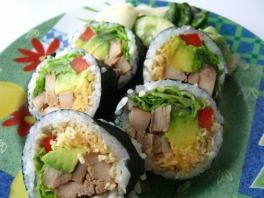 Chicken Sushi Roll Recipe
