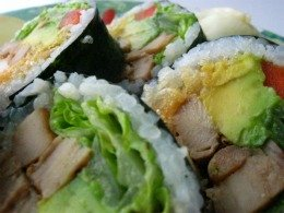 Chicken Sushi Roll Recipe - Appearance is Everything!