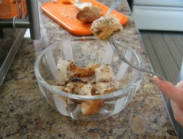 Chopped Chicken Breasts